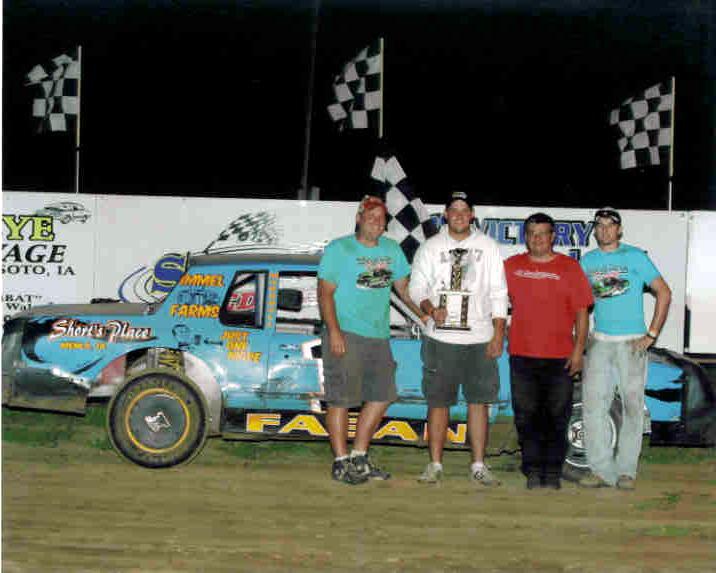 Marcus Fagen 2009 Win